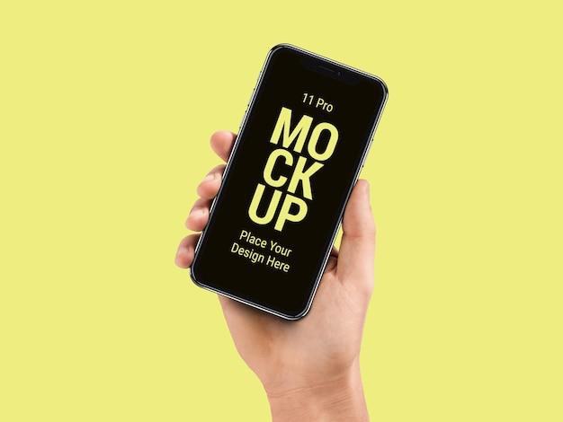 Mais recente smart phone pro mockup Psd Premium