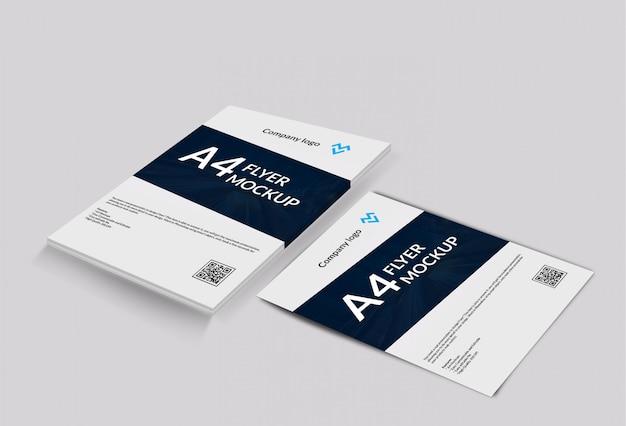 Maquete a4 / poster / flyer Psd Premium