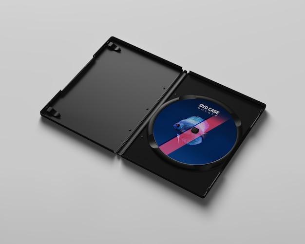 Maquete da caixa de dvd Psd Premium