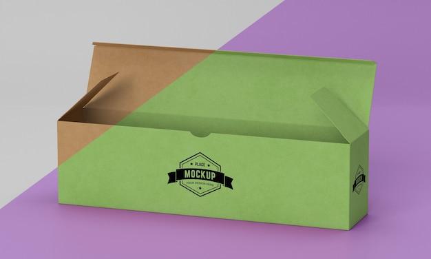 Maquete da caixa de embalagem Psd Premium