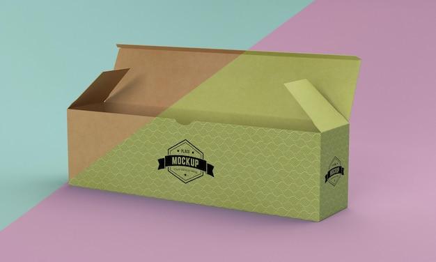 Maquete da caixa de embalagem Psd grátis