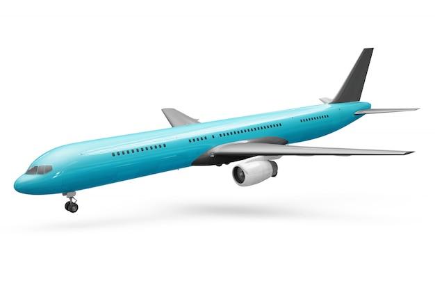 Maquete de avião Psd grátis