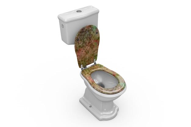 Maquete de banheiro Psd grátis