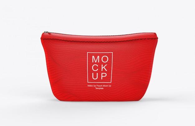 Maquete de bolsa de maquiagem realista Psd Premium
