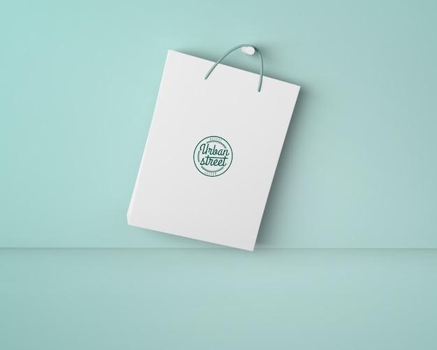 Maquete de bolsa para merchandising Psd grátis