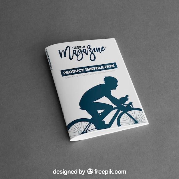 Maquete de brochura Psd grátis