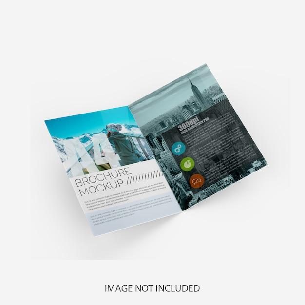 Maquete de brochura Psd Premium