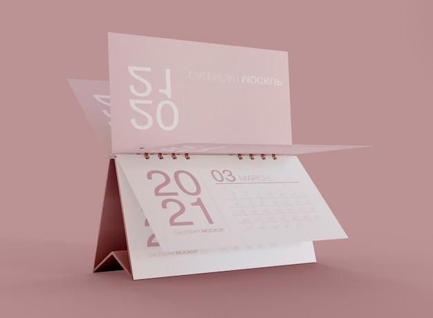 Maquete de calendário Psd Premium