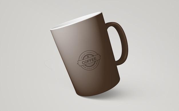 Maquete de caneca de café para merchandising Psd grátis