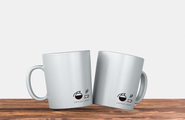 Maquete de caneca de café Psd grátis