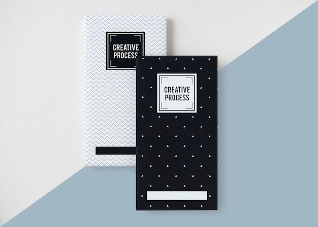 Maquete de capa criativa Psd grátis