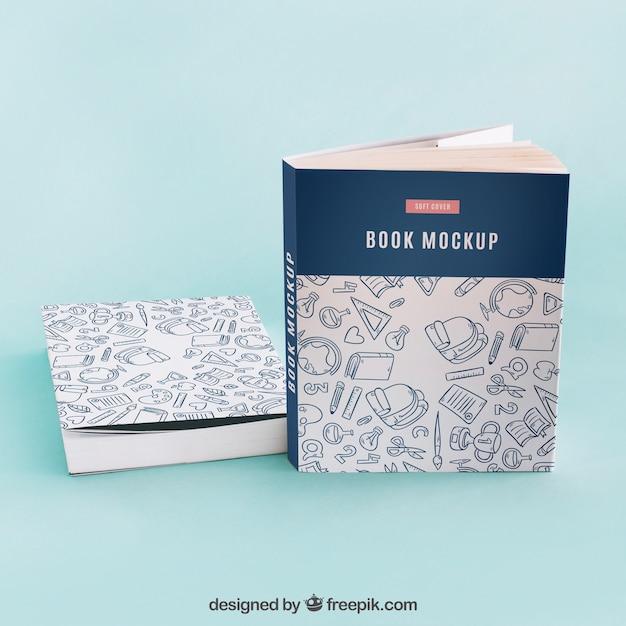 Maquete de capa de livro criativo Psd grátis