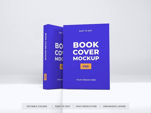 Maquete de capa de livro realista Psd Premium