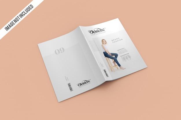 Maquete de capa e capa de revista Psd Premium