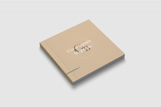 Maquete de capa quadrada Psd Premium