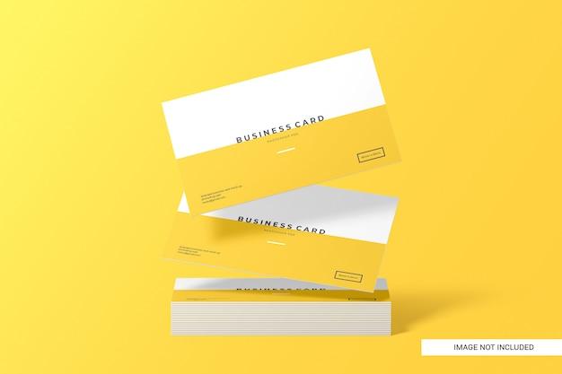 Maquete de cartão de visita criativo Psd Premium