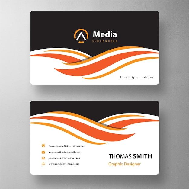 Maquete de cartão de visita profissional Psd grátis