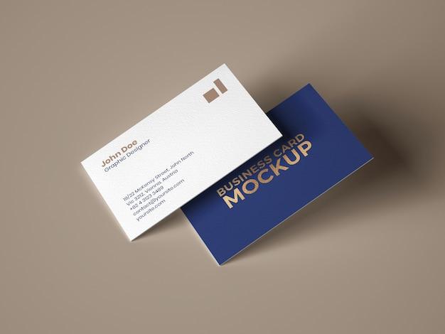 Maquete de cartão de visita Psd Premium