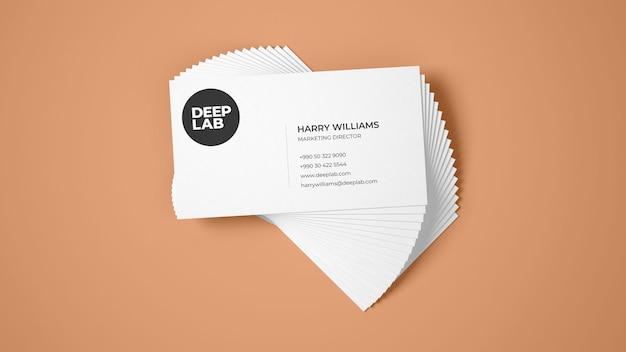 Maquete de cartão premium psd Psd Premium