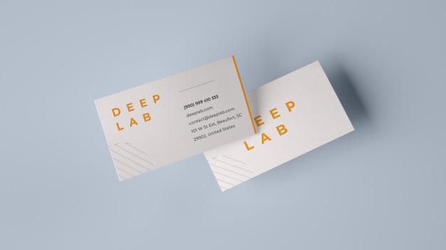 Maquete de cartão premium Psd Premium