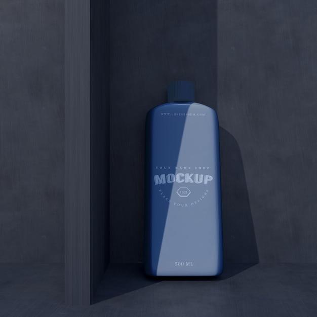 Maquete de design de pacote cosmético. embalagem para design de marca Psd Premium