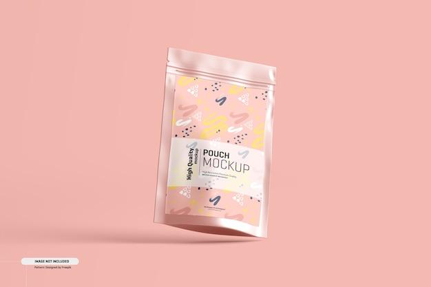 Maquete de embalagem de bolsa de suplemento alimentar Psd grátis