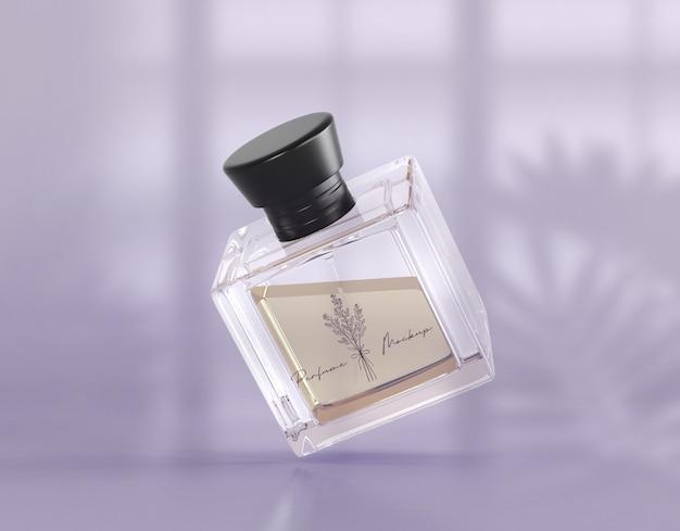 Maquete de embalagem de perfume Psd Premium