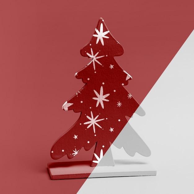 Maquete de enfeite de árvore de natal Psd grátis