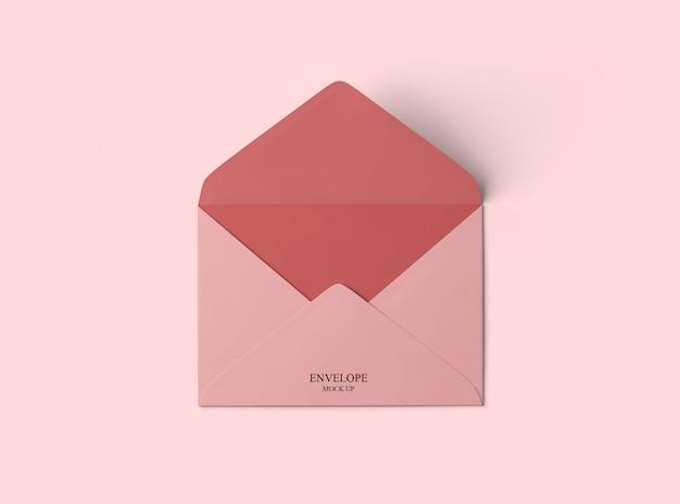 Maquete de envelope Psd Premium