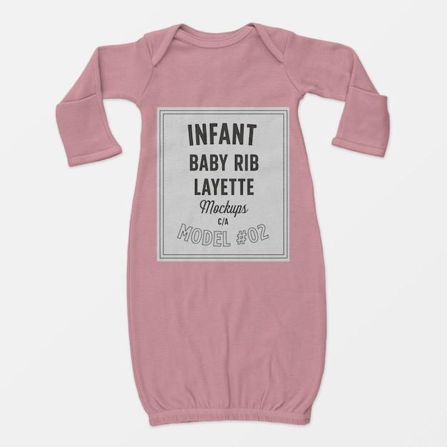 Maquete de enxoval de bebê infantil 02 Psd grátis