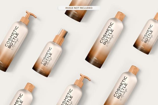 Maquete de frasco cosmético Psd grátis