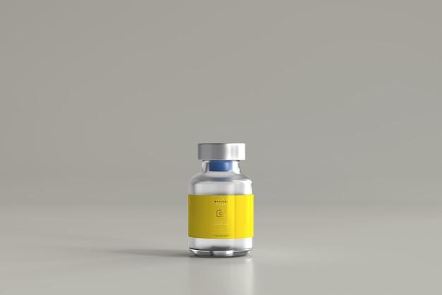 Maquete de frasco de 5ml Psd grátis