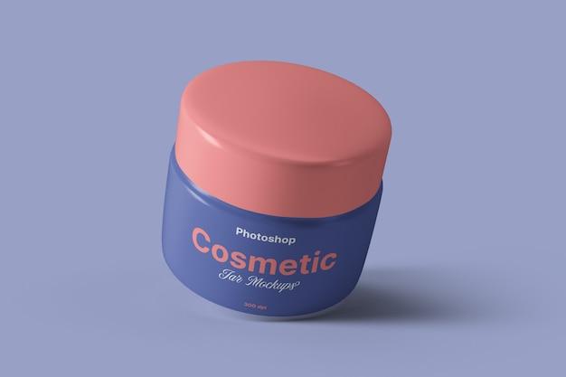 Maquete de frasco de creme cosmético Psd Premium