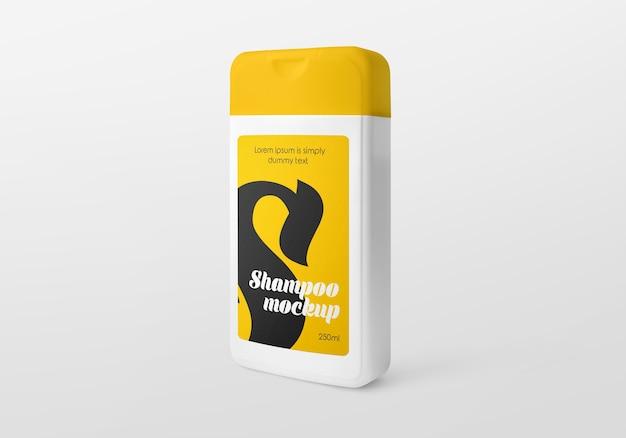 Maquete de frasco de shampoo de plástico Psd Premium
