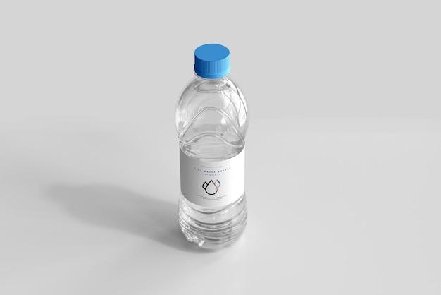 Maquete de garrafa de água doce 1.0l Psd grátis
