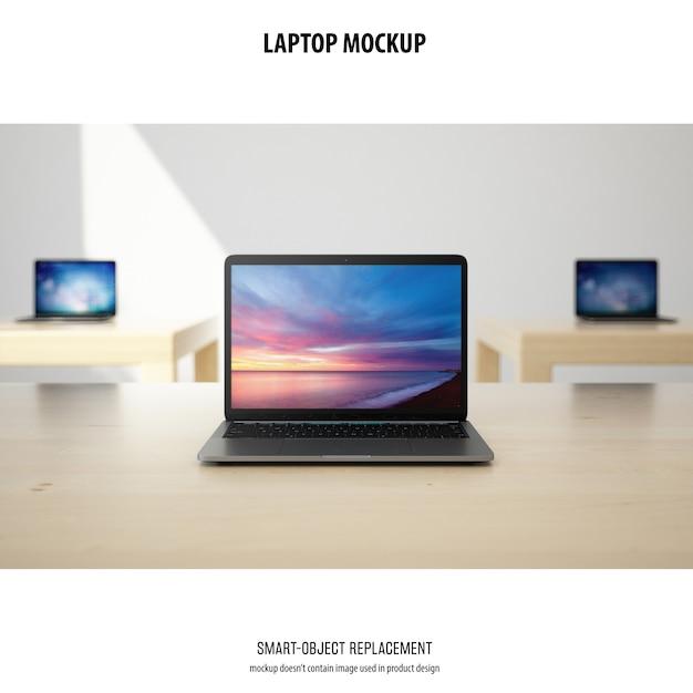 Maquete de laptop Psd grátis