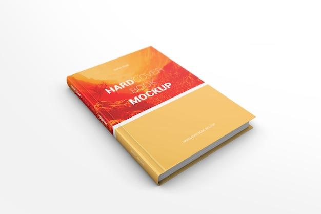Maquete de livro de capa dura Psd Premium