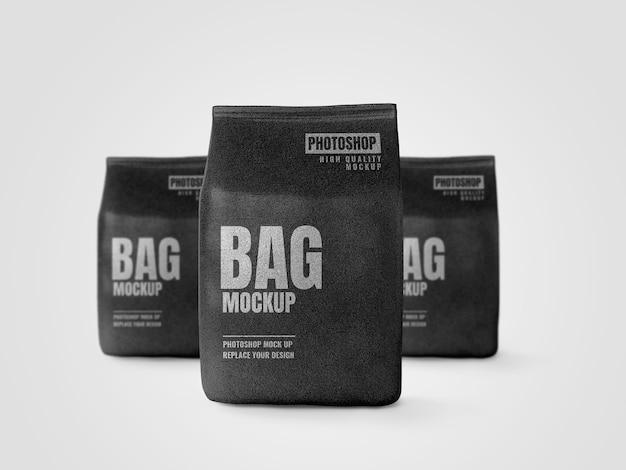 Maquete de marca de publicidade de bolsa grande Psd Premium