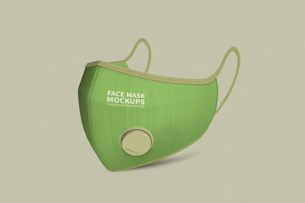 Maquete de máscara facial Psd Premium