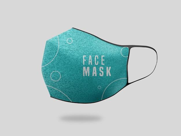Maquete de máscara facial Psd grátis