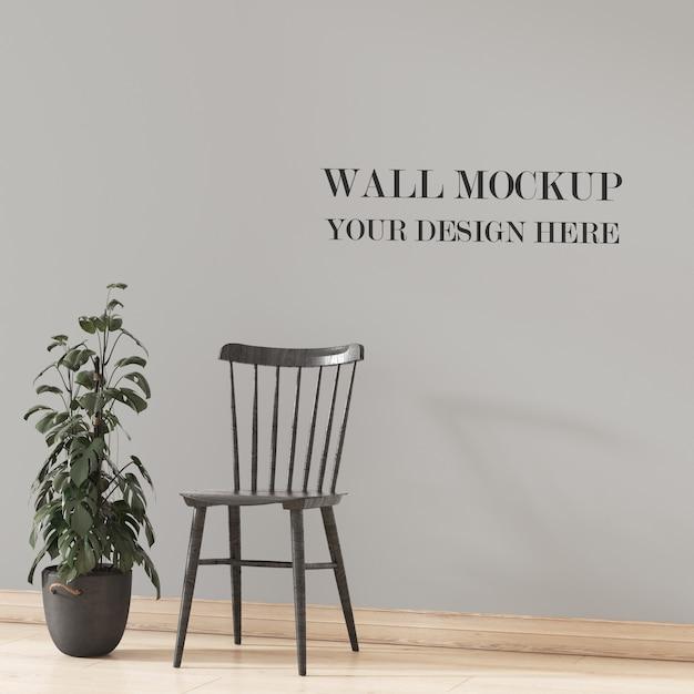 Maquete de parede Psd Premium