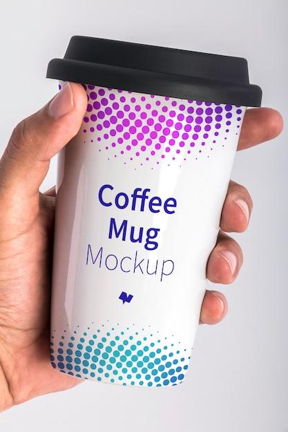 Maquete de psd de caneca de café Psd Premium