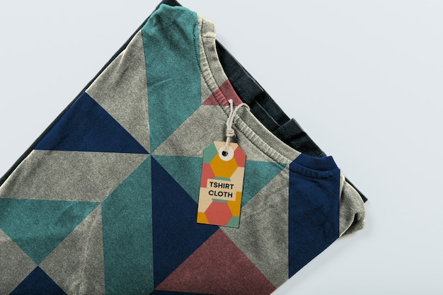 Maquete de roupas Psd grátis
