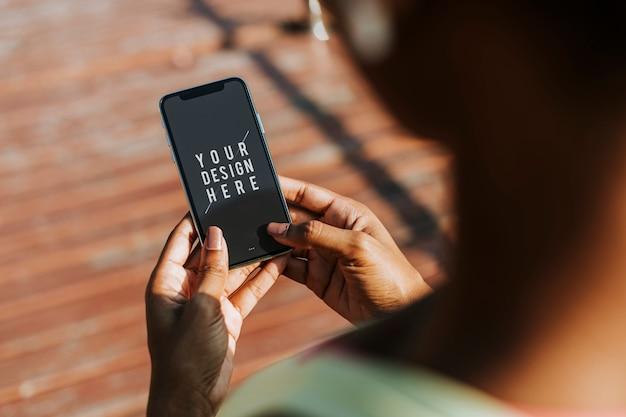 Maquete de smartphone Psd grátis