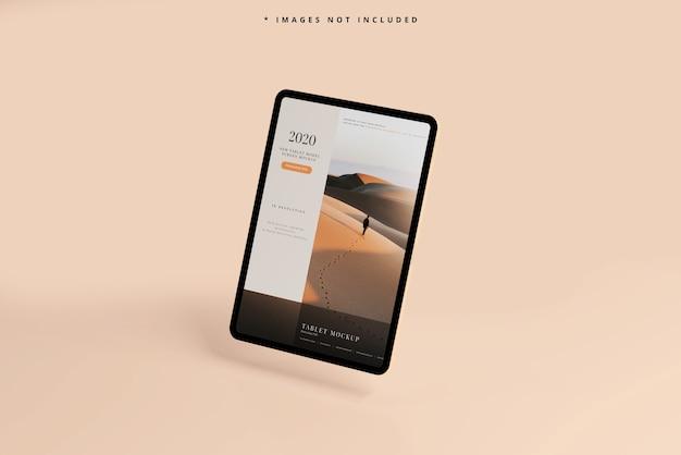Maquete de tela de tablet moderno Psd grátis