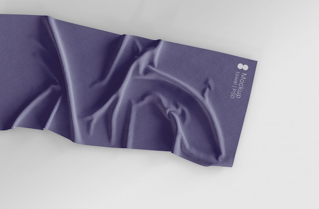 Maquete de toalha Psd grátis
