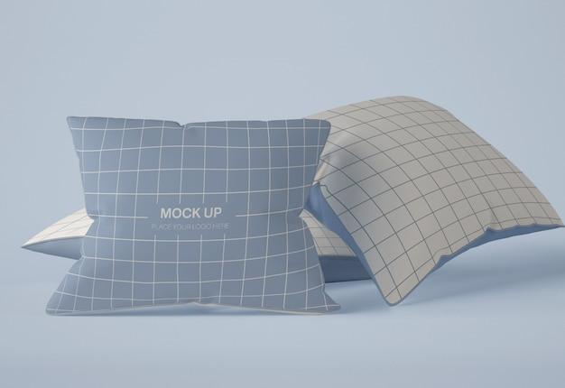 Maquete de travesseiro Psd Premium