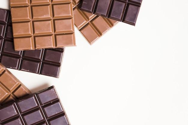 Maquete do conceito de chocolate delicioso Psd Premium