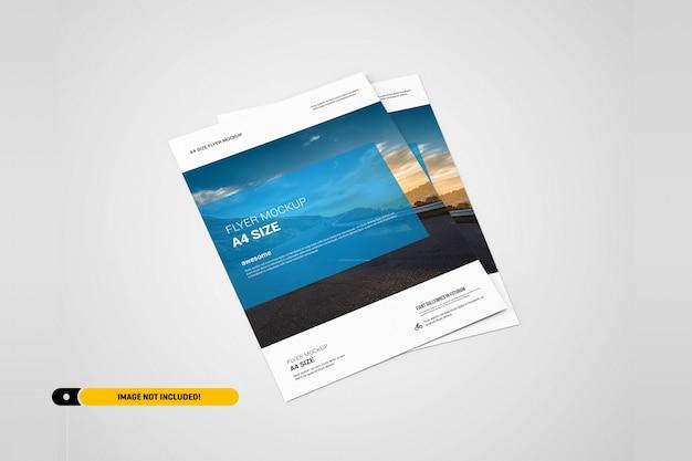 Maquete do flyer Psd Premium