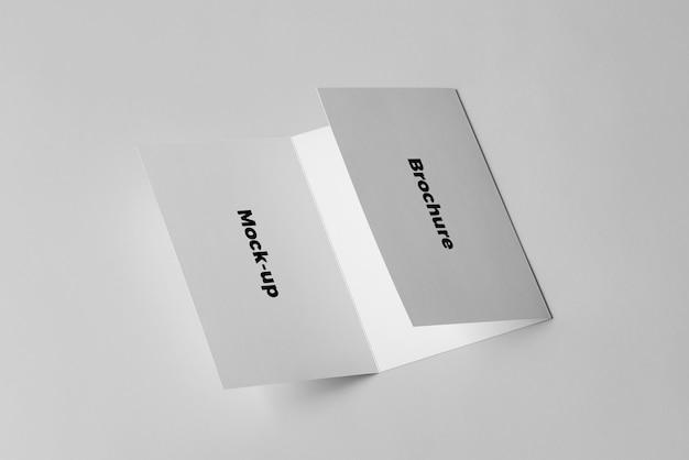 Maquete do folheto Psd Premium